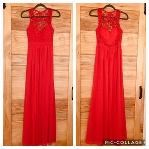 Dresses & Skirts - NWT Maniju Coral/Red Dress ❤️